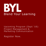 Upcoming BYL courses