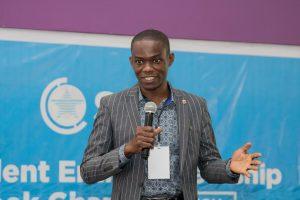 Speaker at SFAN Student Entrepreneurship Week 2018